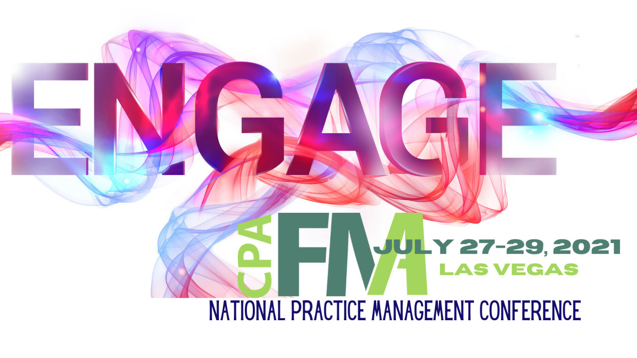 2021 National Practice Management Conference at ENGAGE