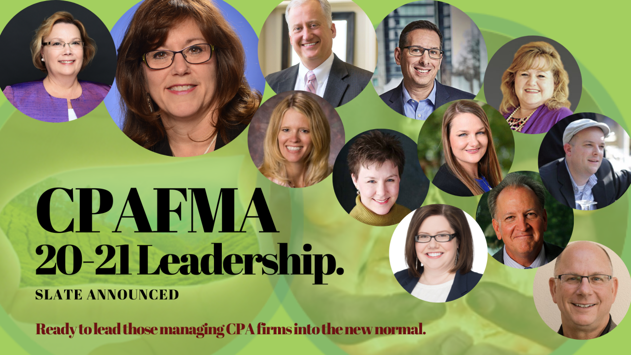 CPAFMA 2020-2021 National Board Slate Announced