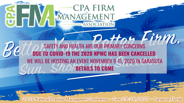 2020 National Practice Management Conference - CANCELLED