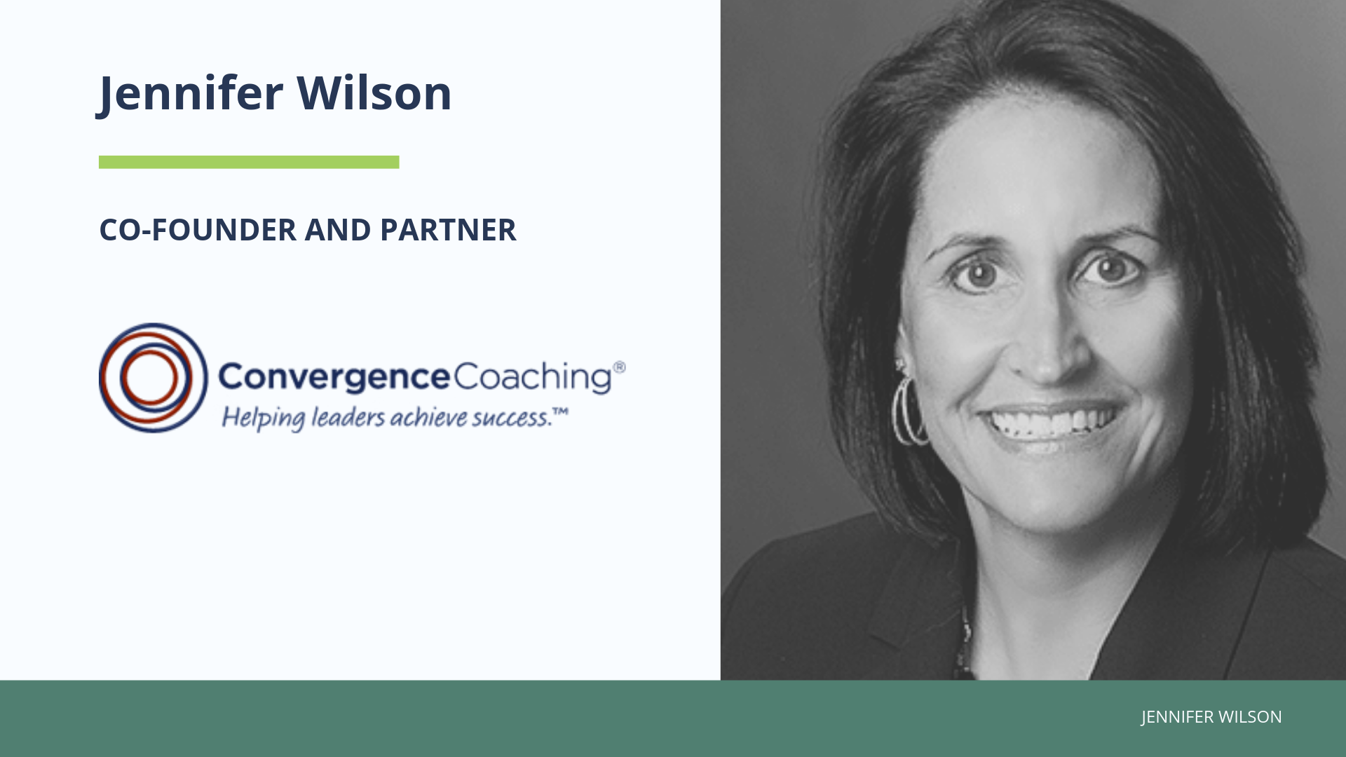 ConvergenceCoaching Partner and Co-Founder Jennifer Wilson Inducted into CPA Practice Advisor Accounting Hall of Fame