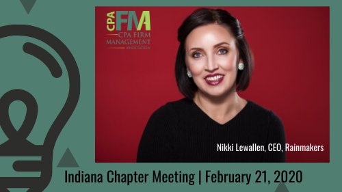 Indiana Chapter Meeting: Business Growth Through Relationships