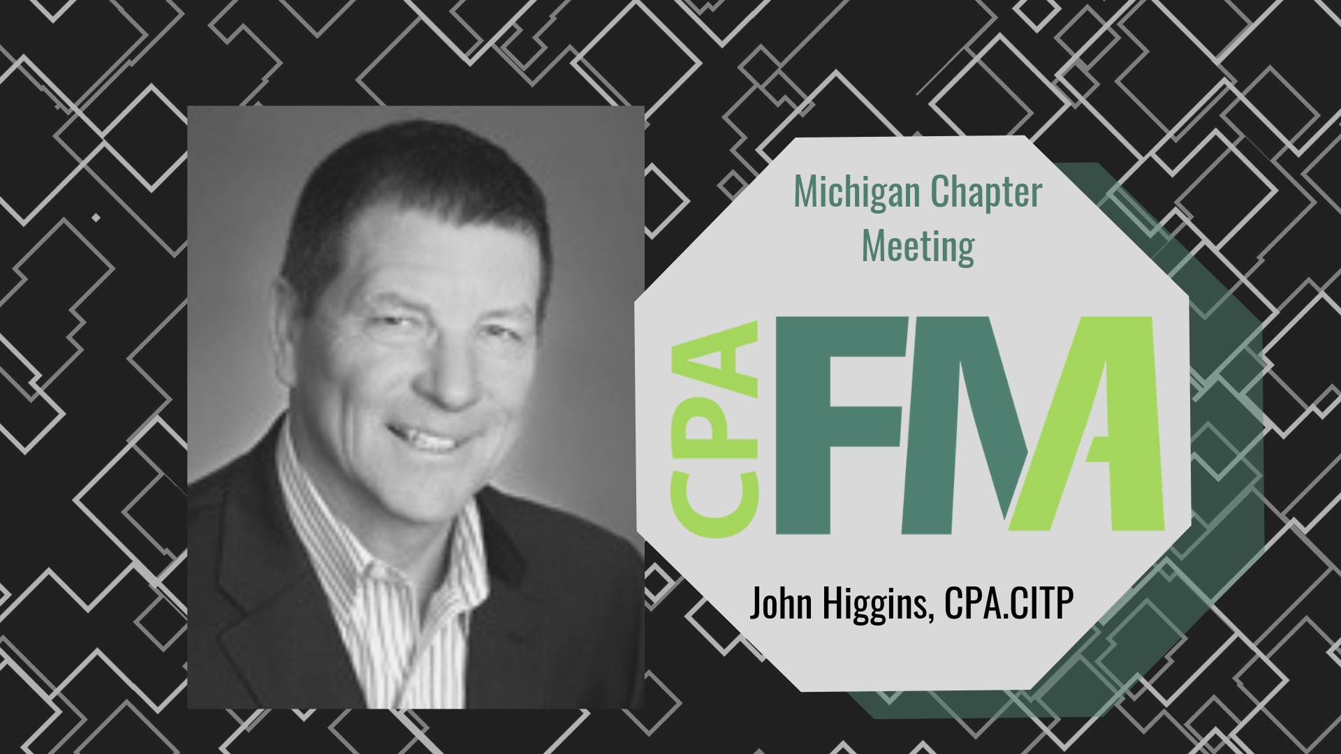 Michigan Chapter Meeting: Technology by John Higgins